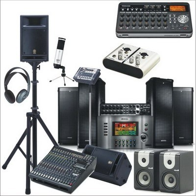 PA-Equipment & Recording