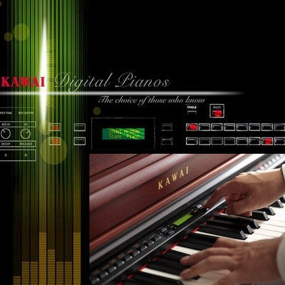 Digitale Homepianos